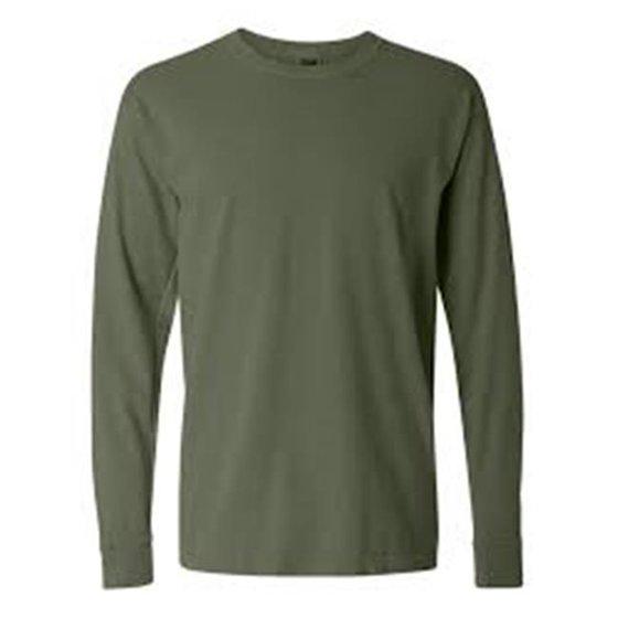 e268d642c1455 COMFORT COLORS - Comfort Colors 4410-Hemp-2X Adult Long Sleeve Pocket  Tee  44  Hemp - 2X - Walmart.com