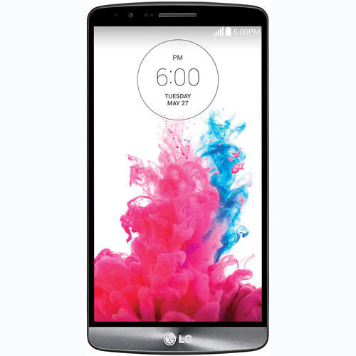Used (Good Condition) LG G3 D851 32GB GSM T-Mobile Unlocked 4G LTE Android Smartphone (Black)