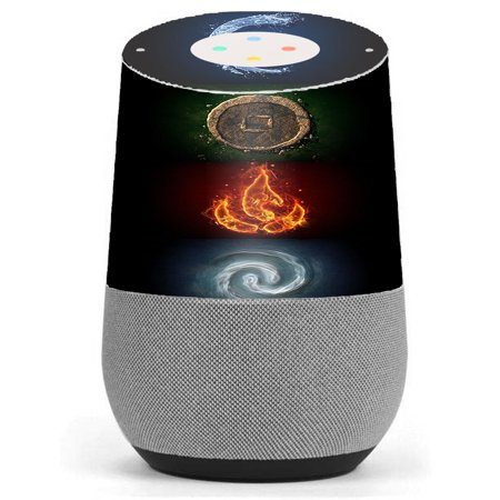 Skin Decal Vinyl Wrap For Google Home Stickers Skins Cover/ Elements Water Earth Fire (Best Google Earth Layers)