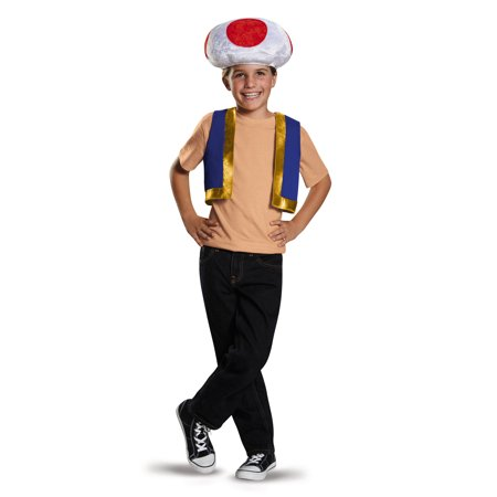 Super Mario Toad Kit - Child - Baby Toad Costume