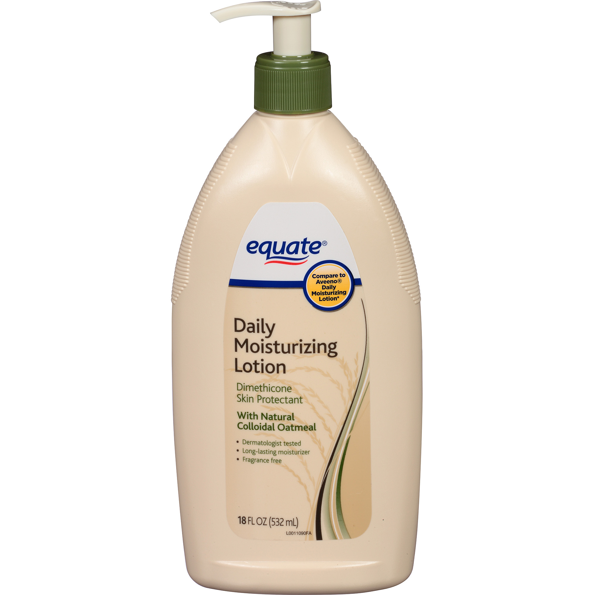 Equate Daily Moisturizing Lotion, 18 fl oz