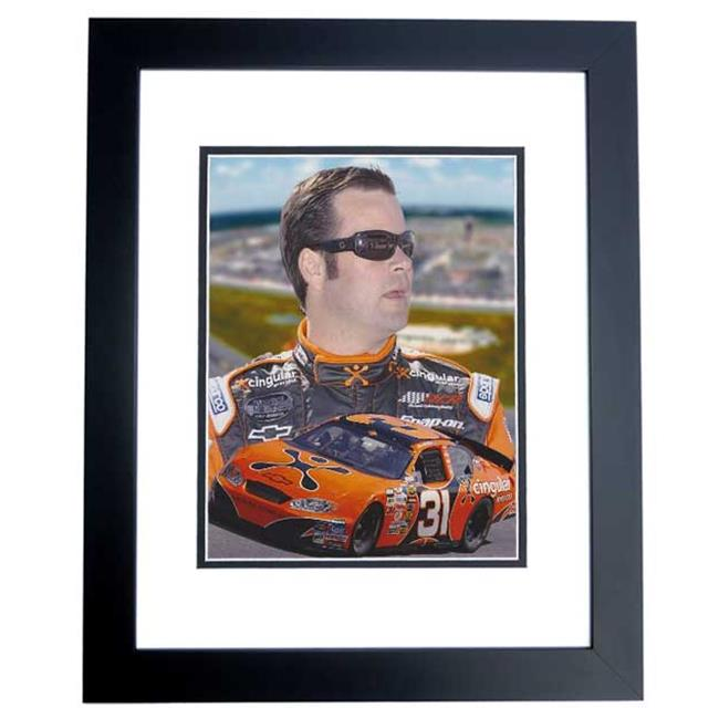 Robby Gordon Unsigned Cingular Racing 8X10 Inch Photo Black Custom Frame