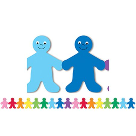 Rainbow People Mighty Brights Border - image 1 of 1