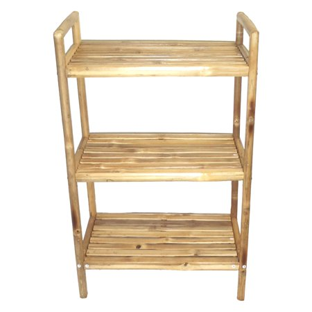 - Bamboo54 Bamboo 5848 3 Tier Bath Shelf