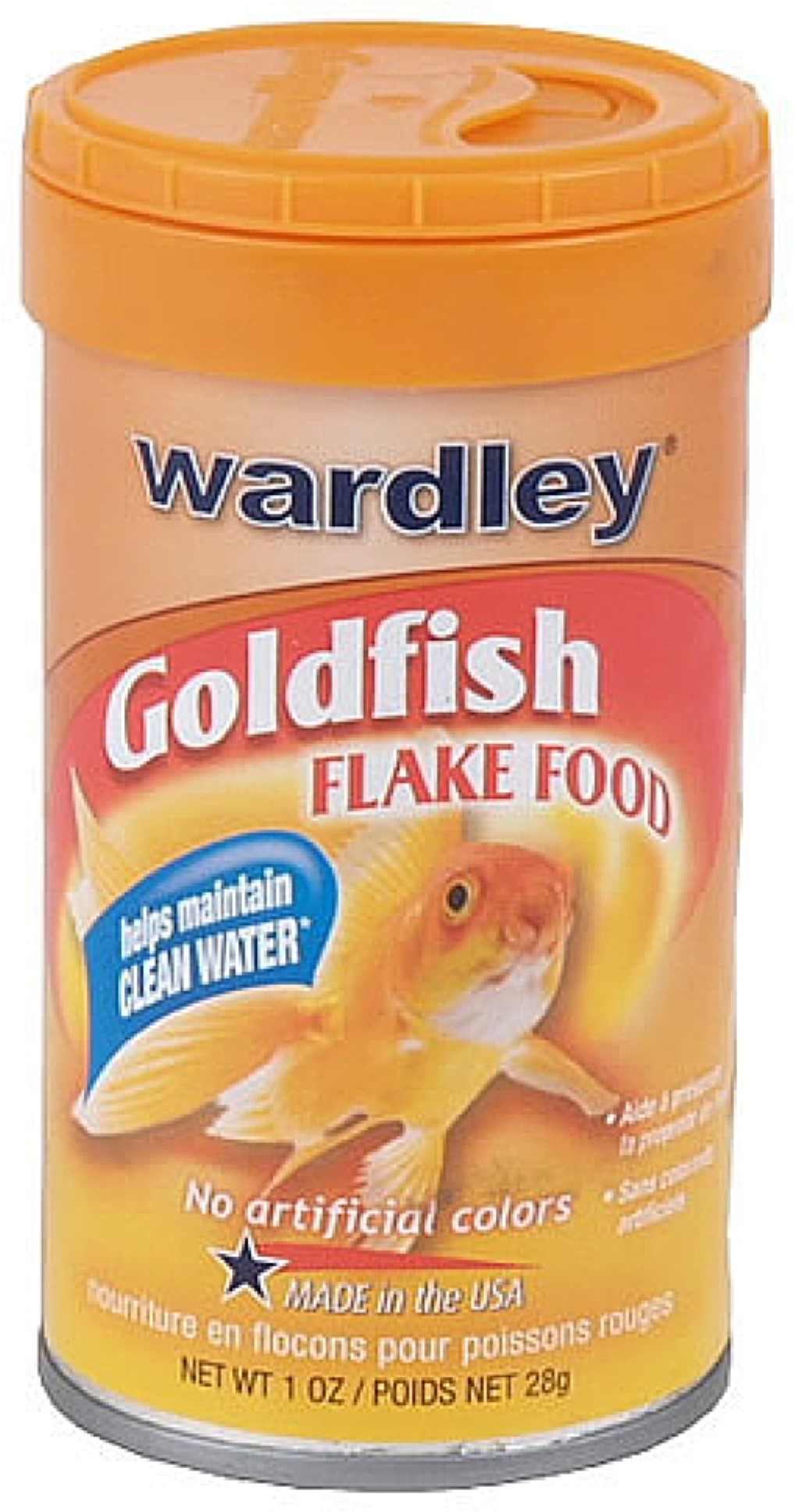 3 Pack Wardley Products Goldfish Flake Food 1 oz by