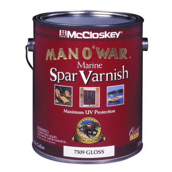 McCloskey Man O'War VOC Spar Interior & Exterior Varnish