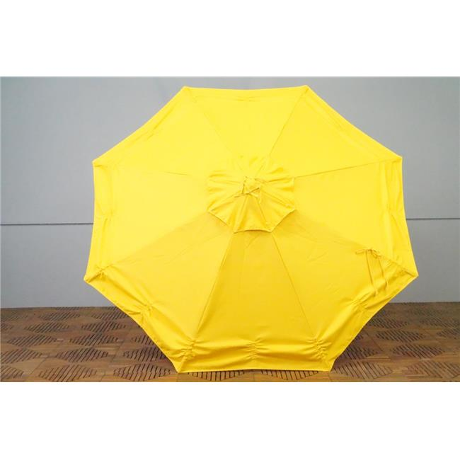 Shade Trends URC-98-SY Universal Replacment Umbrella Canopy - Sunflower Yellow