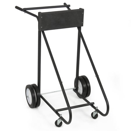 Arksen 315 LB Outboard Boat Trolling Motor Stand Carrier Cart Dolly