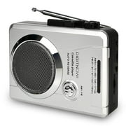 DIGITNOW! AM/FM Portable Pocket Radio and Voice Audio Cassette player Recorder,Personal Audio Walkman Cassette Player with Built-in Speaker and earphone