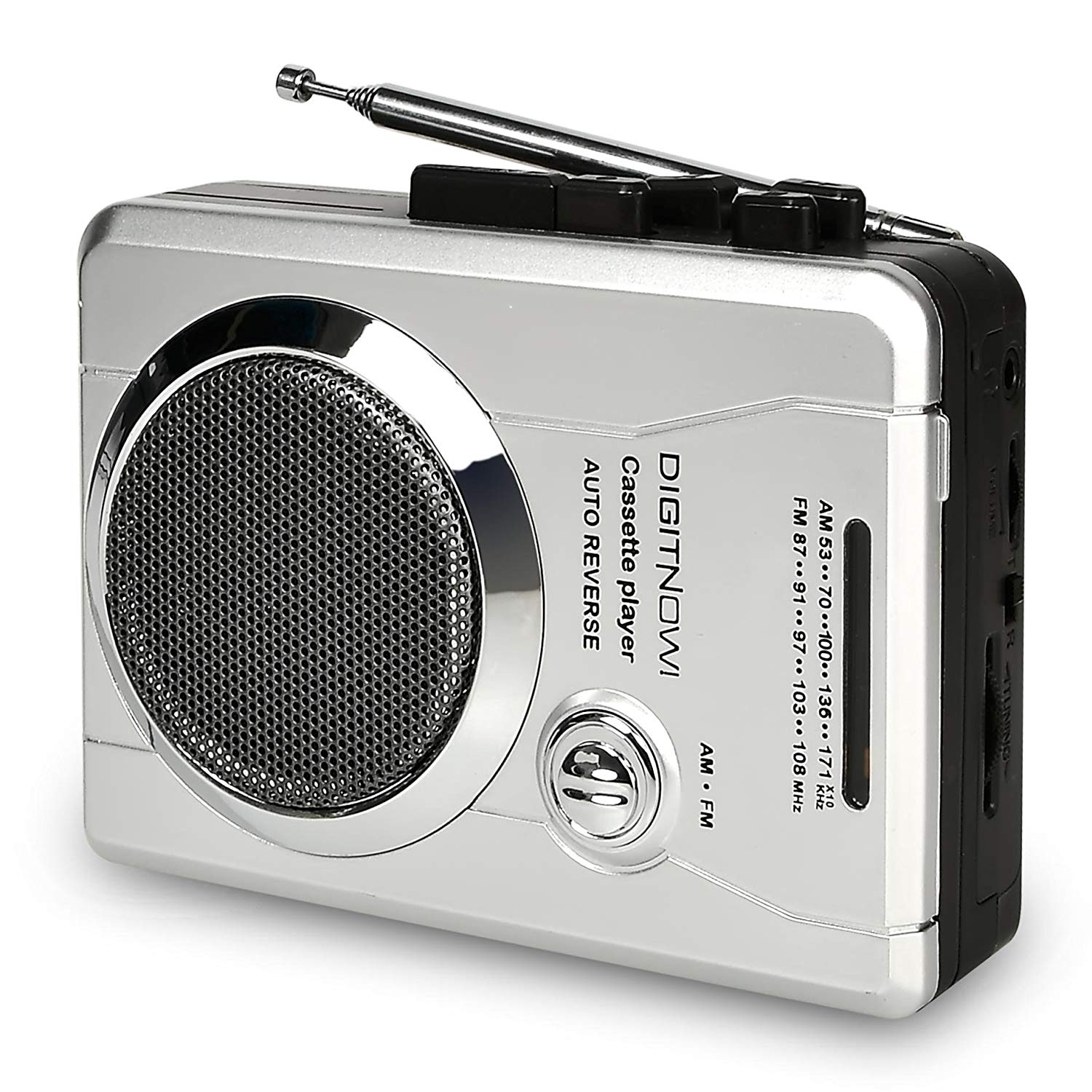 Bluetooth Cassette Player,Portable Cassette Player with Bluetooth Transmitter Walkman Player Battery or USB Power Supply,Retro-Style Bluetooth Tape Music Player with Earphones with Auto-Reverse