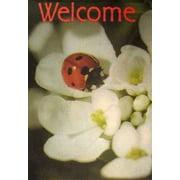 "Ladybug Spring Garden Flag 12"" x 18"""