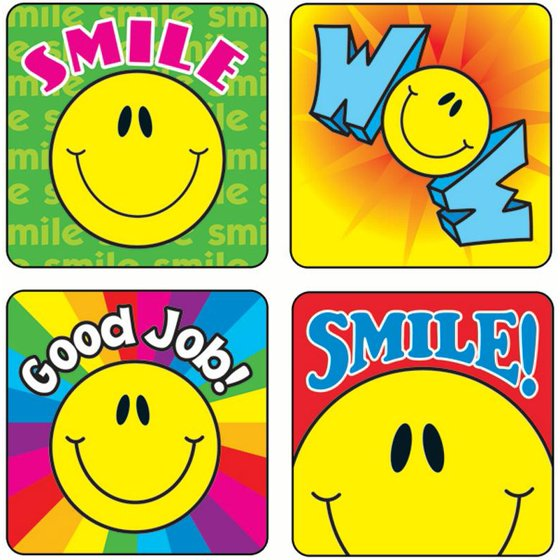 Smiley Faces Sticker Collection Walmartcom