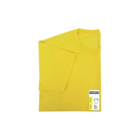 Jerzees Tshirt Adult Large Island Yellow - image 1 of 1