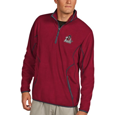 New Mexico State Aggies Antigua Ice Quarter-Zip Jacket - Red