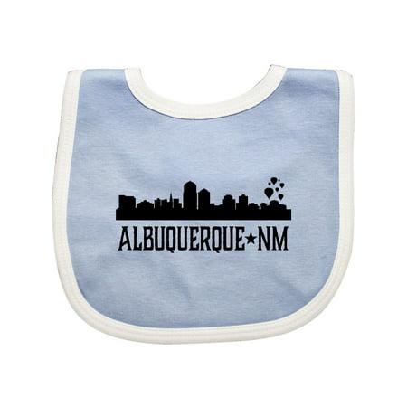 Albuquerque New Mexico City Skyline Silhouette Baby Bib](Party City Albuquerque New Mexico)