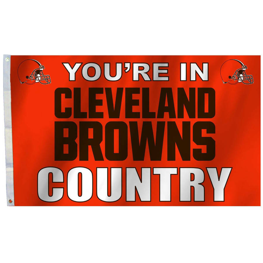 Cleveland Browns Country 3' x 5' Flag