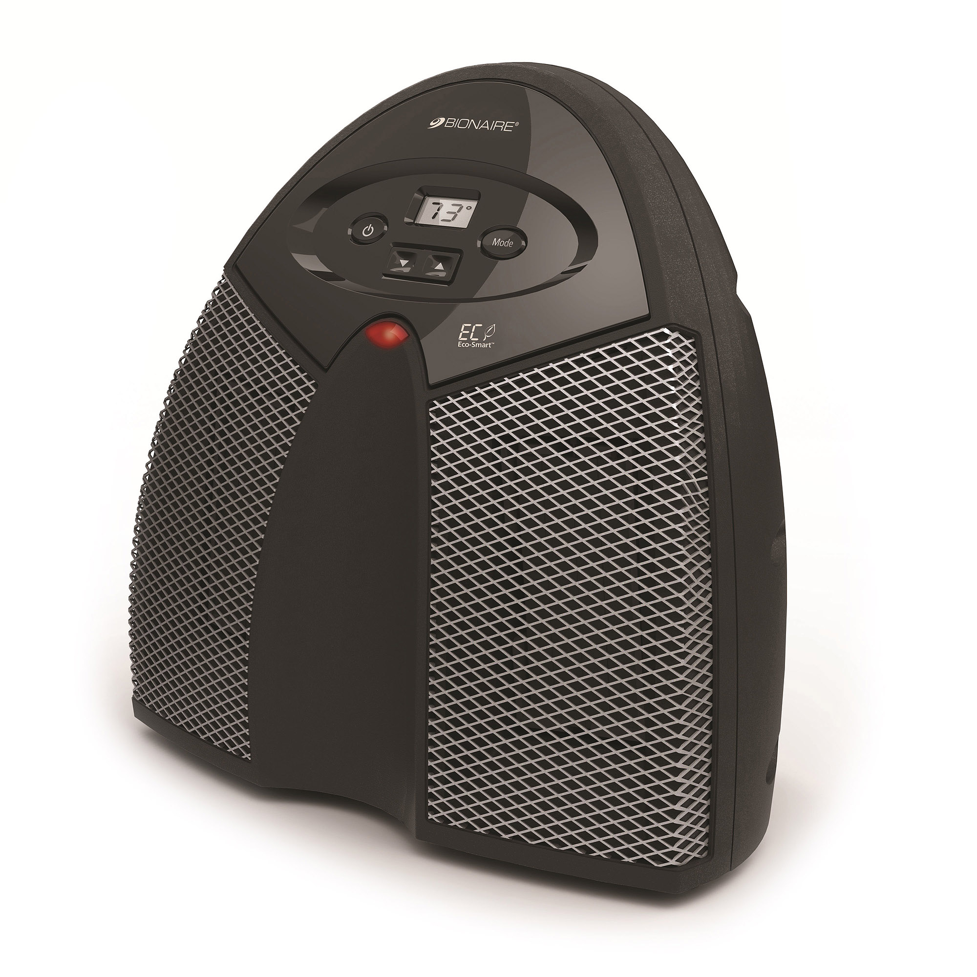 Bionaire Twin Ceramic Heater, Black