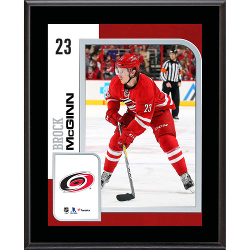 "Brock McGinn Carolina Hurricanes 10.5"" x 13"" Sublimated Player Plaque - No Size"