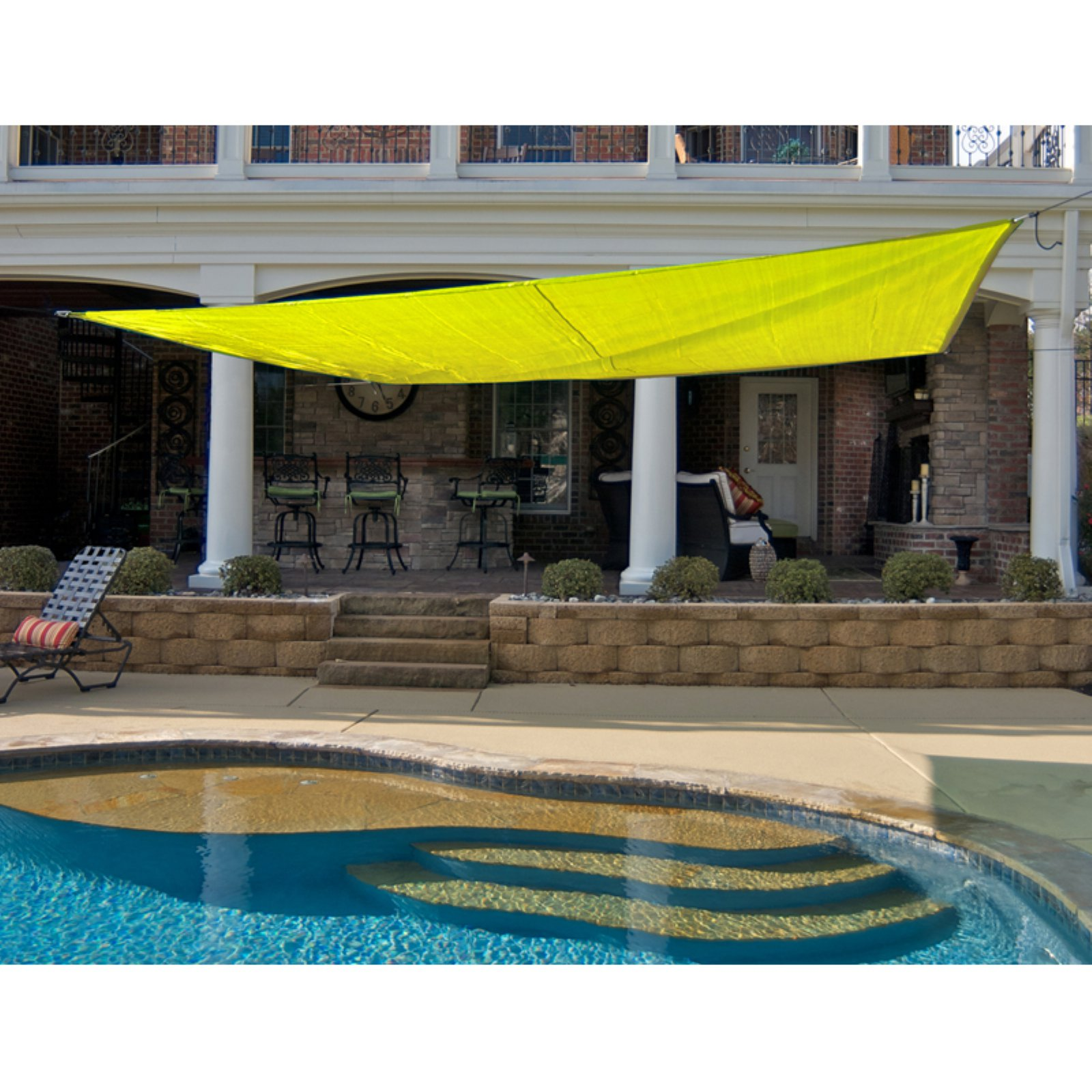 King Canopy Triangle Sun Shade Sail  sc 1 st  Walmart & King Canopy Triangle Sun Shade Sail - Walmart.com
