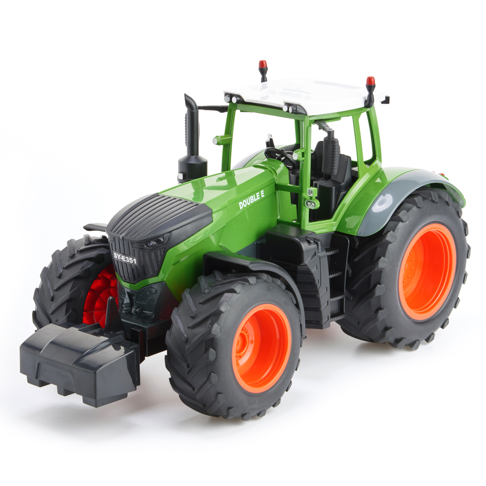 Cheerwing 1:16 RC Farm Tractor 2.4Ghz Simulation appearance Auto-coding Monster Tread by Double E