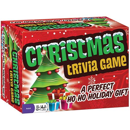 classic christmas trivia family party game - holiday themed guessing game