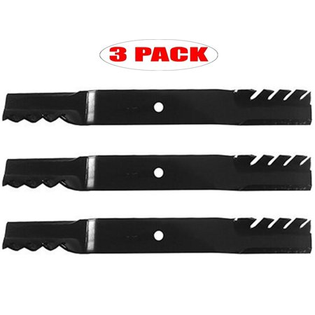 60 Inch Gator Mulcher Mower (Oregon 96-335 (3 Pack) Gator Mulcher 3-N-1 Hi-Lift Blade 60