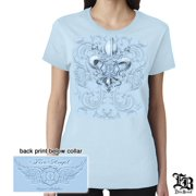 Erazor Bits Cotton Firefighter Fire Angel T-Shirt