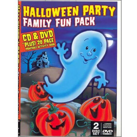 Halloween Party Family Fun Pack (With CD) (Full - Family Fun Halloween Dinner