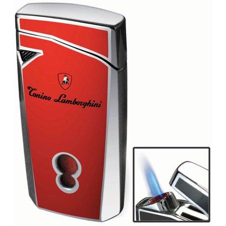 Tonino Lamborghini Magione Red Torch Flame Cigar Lighter