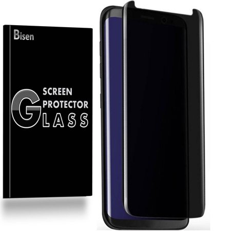 For Samsung Galaxy Note 9 [BISEN] Privacy Anti-Spy Tempered Glass Screen Protector, 3D Curved, Full Screen Coverage,  Anti-Scratch, Anti-Shock,