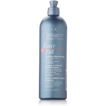 Roux Fanci-Full Temporary Haircolor Rinse, Black Rage 15.2 oz