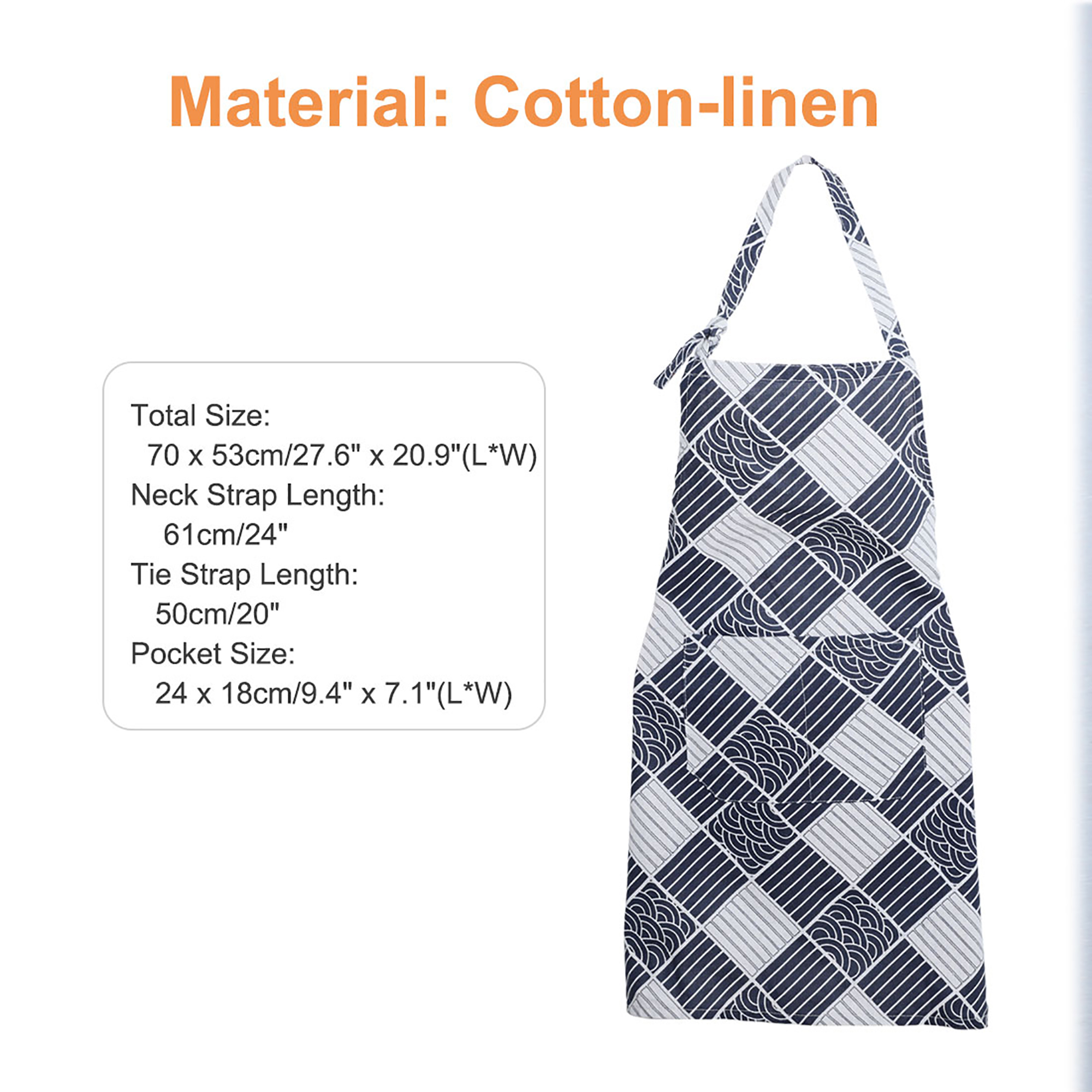 Young Living Essential Oils Apron Cotton With Pockets With Child One 2 Total