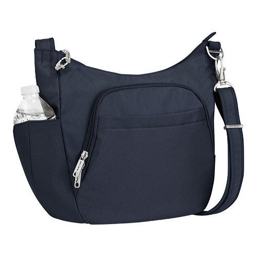 Women's Anti-Theft Classic Cross-Body Bucket Bag 14 x 10 x 4