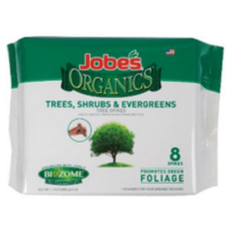 - Jobe's Organic 8ct. Tree, Shrub, and Evergreen Spike