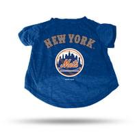 New York Mets Sparo Pet T-Shirt - Blue