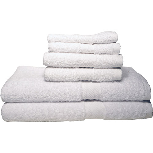 100 Percent Cotton Ultra Bath Collection; Soft and Absorbent