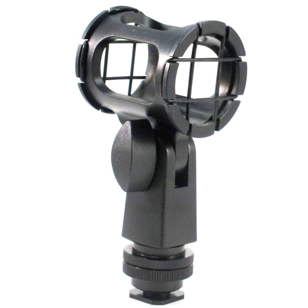 Microphone Shock Mount For The Sennheiser MKE 400 Shotgun Microphone, Simple, Yet Highly... by
