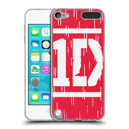 1d Protector Cover (OFFICIAL ONE DIRECTION BAR FORM LOGO DESIGNS SOFT GEL CASE FOR APPLE IPOD TOUCH MP3)