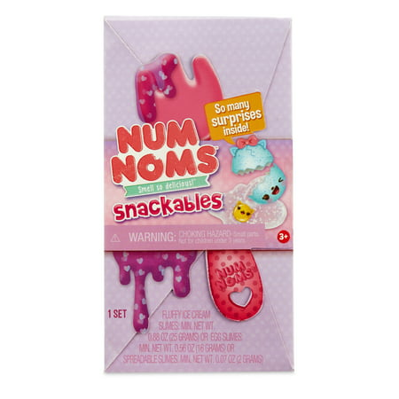 Num Noms Snackables Slime Kits with Fun-Themed To-Go (No Bake Snacks For Kids To Make)