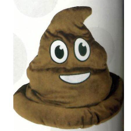 Fake Emoji Poop Hat - Brown](Inspector Gadget Costume)
