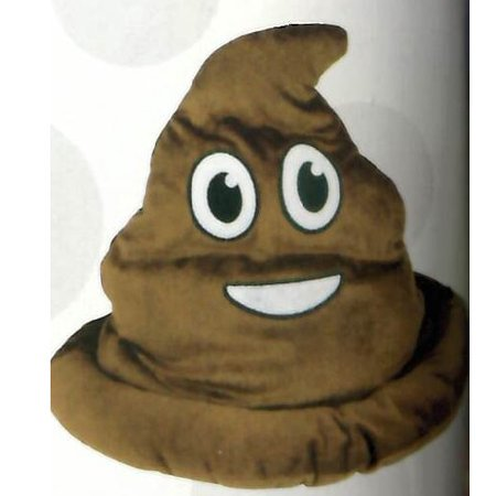 Fake Emoji Poop Hat - Brown - Fake Poo