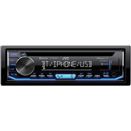 JVC Mobile KD-SR85BT Single-DIN In-Dash AM/FM/CD Receiver with Bluetooth