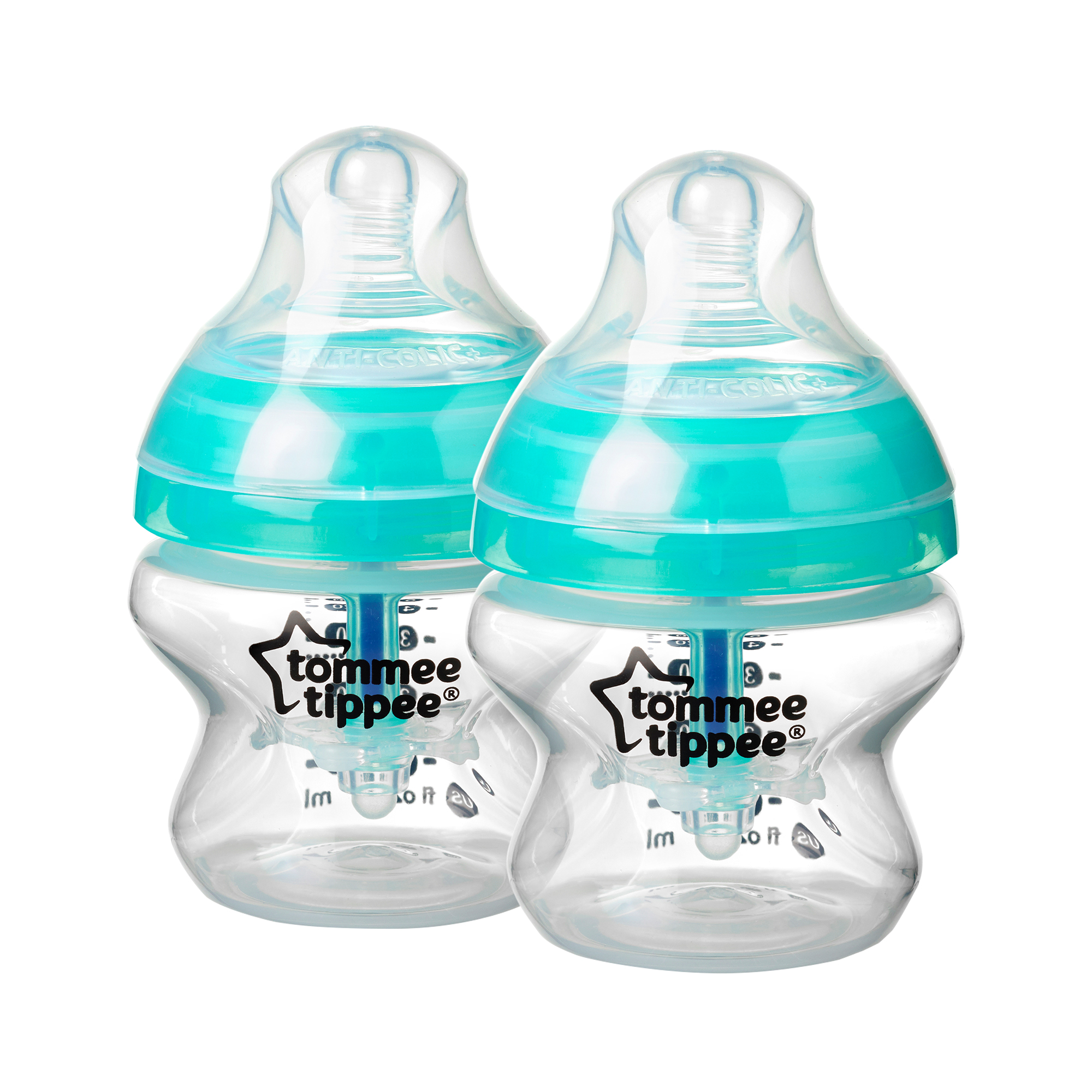 Tommee Tippee Advanced Anti-Colic Baby Bottle - 5oz, 2 Pack