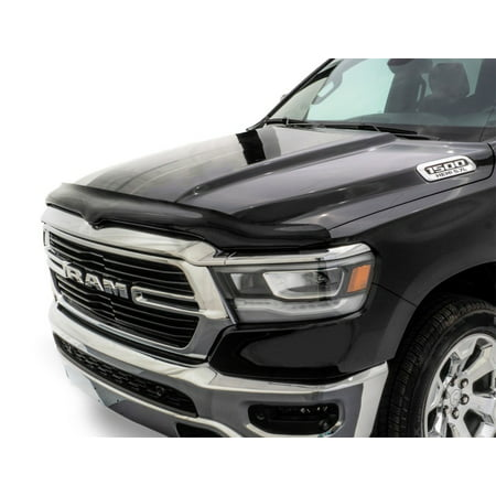 AVS 2019 RAM 1500 Bugflector II High Profile Hood Shield - Smoke