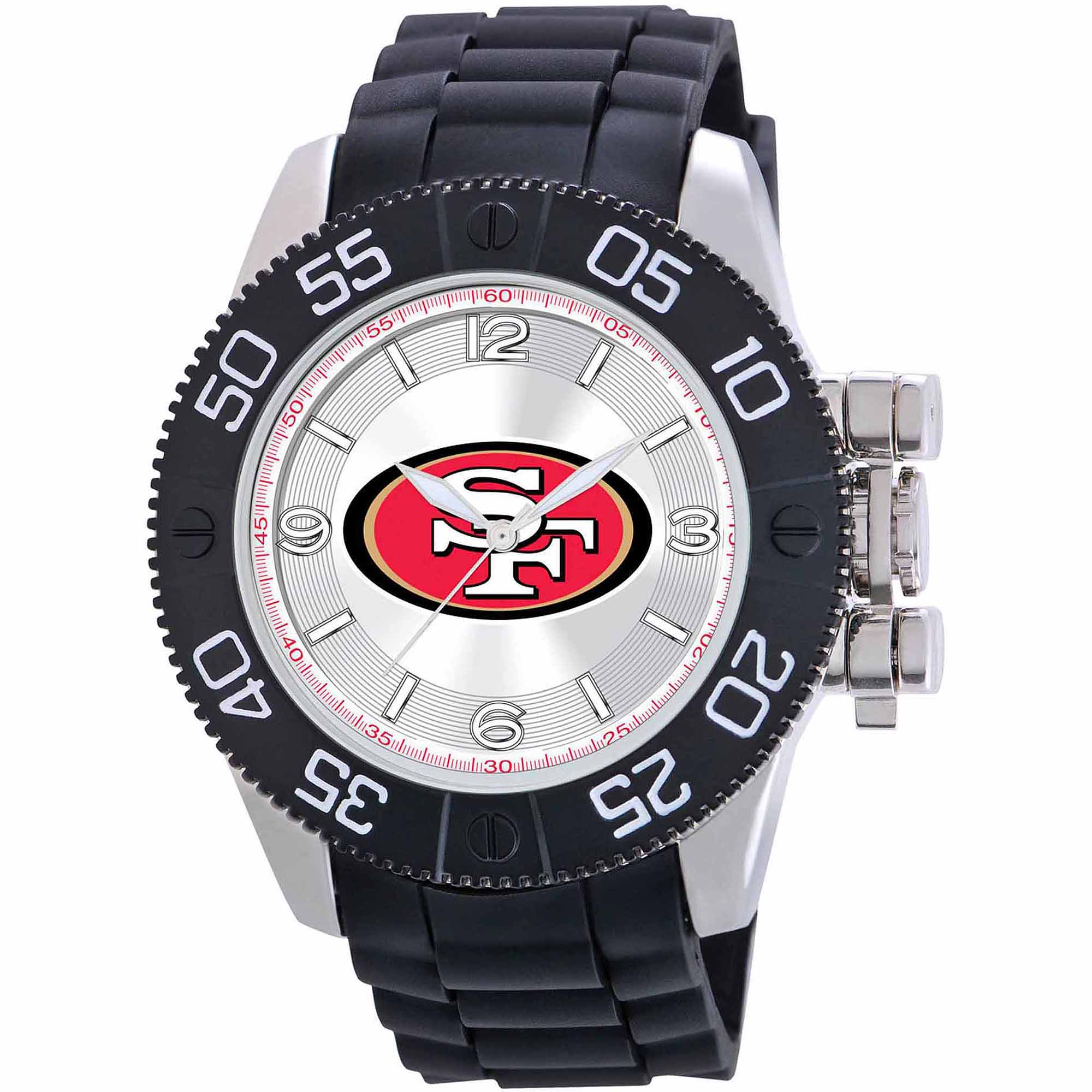 Game Time NFL Men's San Francisco 49ers Beast Series Watch