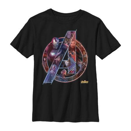 Marvel Boys' Avengers: Infinity War Logo T-Shirt - Marvel Boys