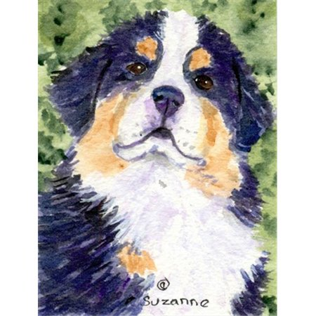 Carolines Treasures SS8837CHF 28 x 40 In. Bernese Mountain Dog Flag Canvas, House Size - image 1 de 1