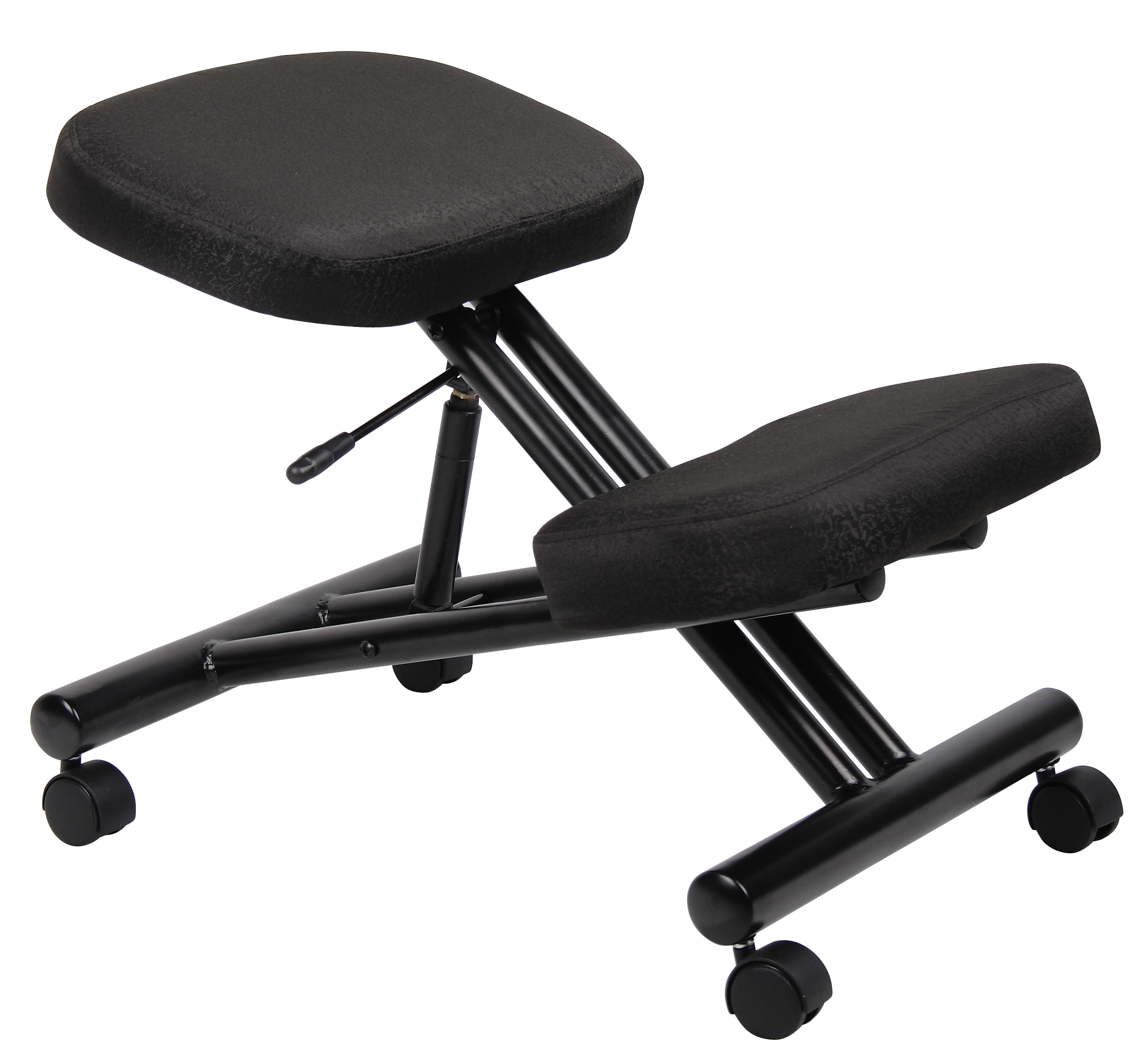 Boss Office & Home Black Kneeling Stool