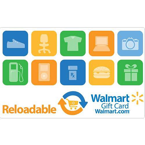 Reloadable Walmart Gift Card