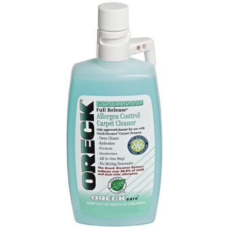 Oreck 40257-01 Full Release Allergen Control Carpet Cleaner 16 -